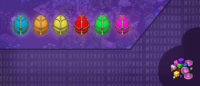 Les nouvelles MysteryBox's de Pâques