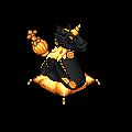 Dragon Licorne Démoniaque